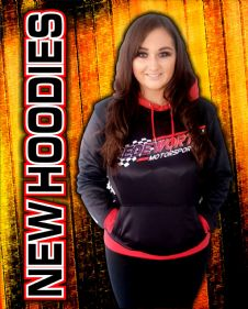NEW SPEDEWORTH/NATIONAL HOT ROD  HOODIES 2020